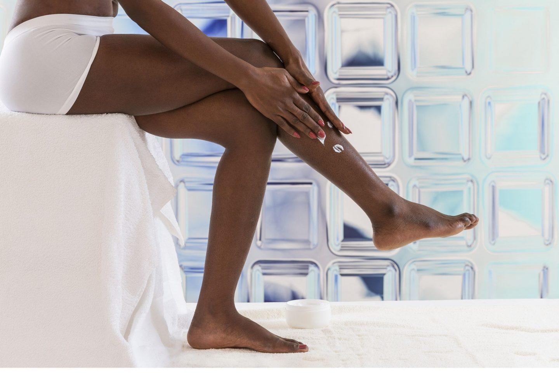 legs dry skin